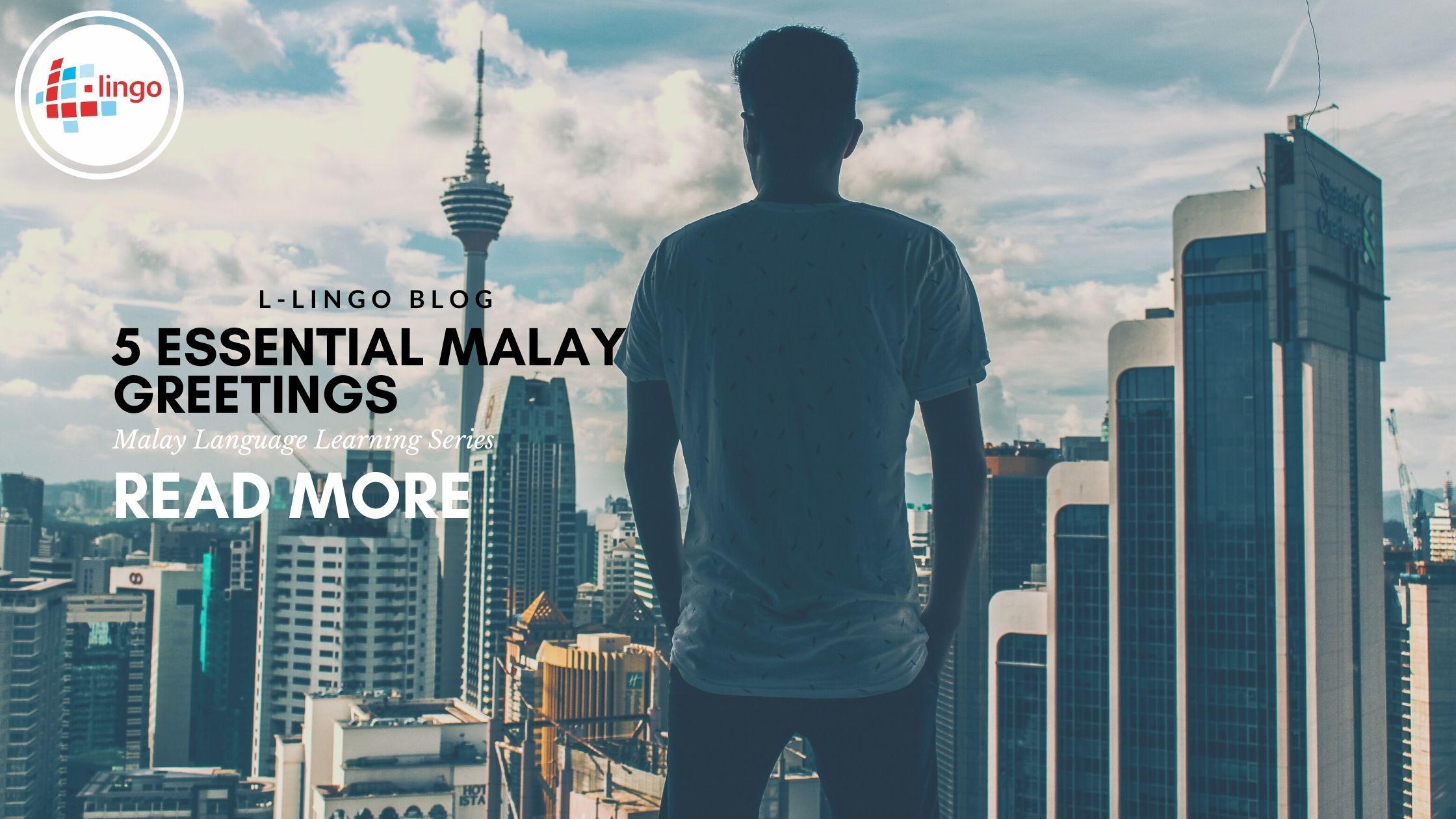 L-Lingo Learn Malay Blog
