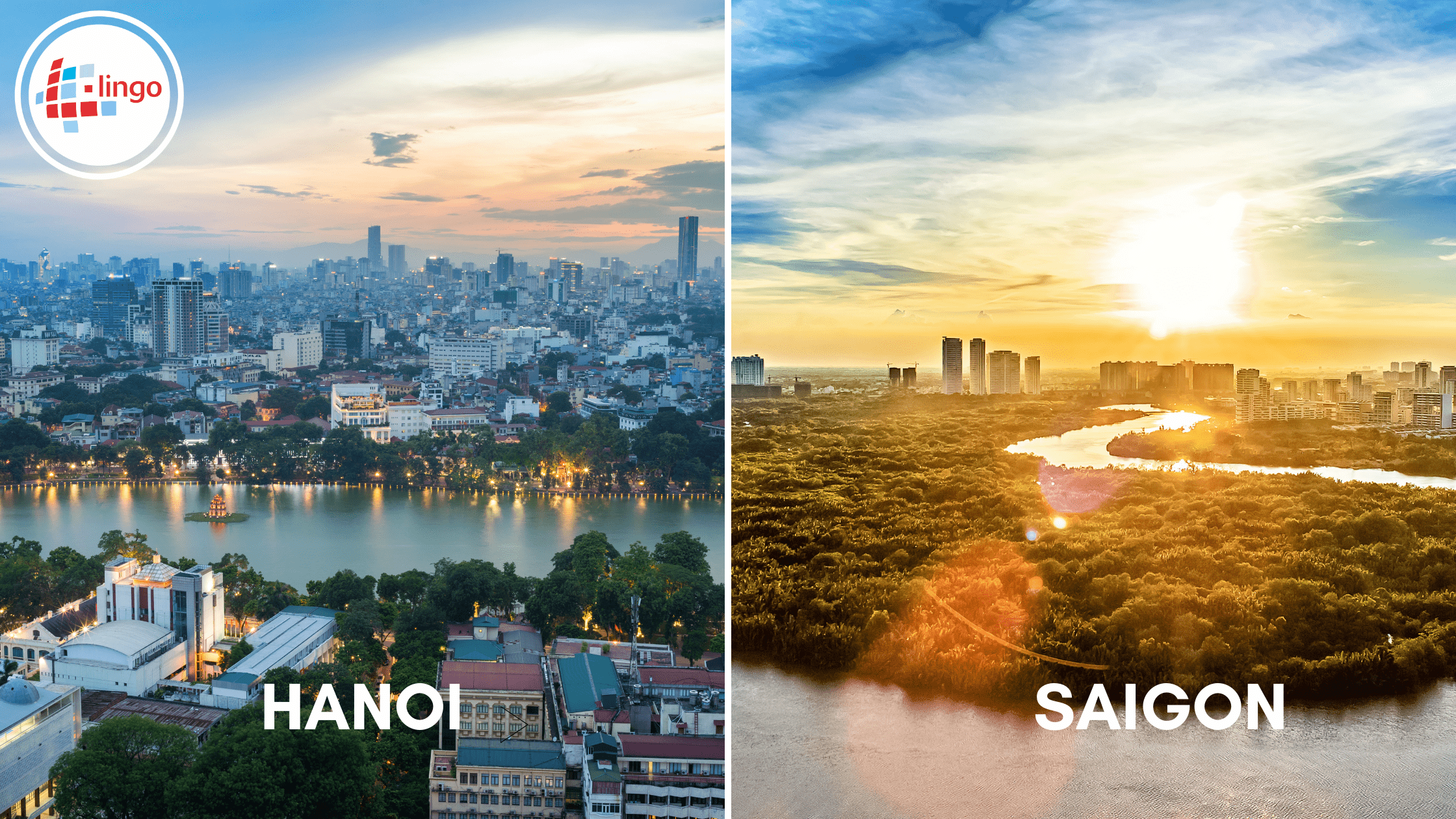 L-Lingo Blog: Hanoi and Saigon Vietnam. Difference between northern and southern Vietnamese.