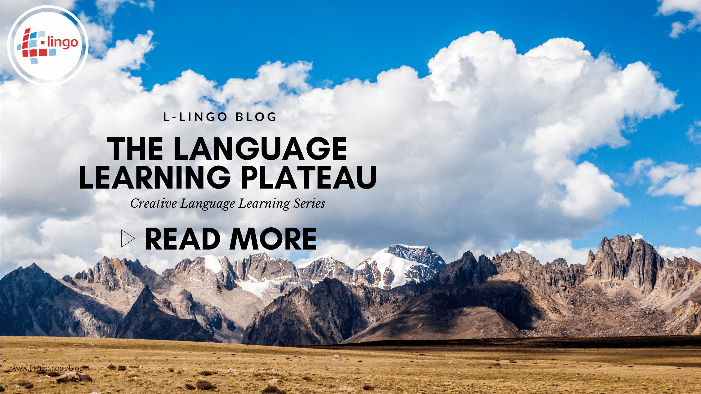 The Language Learning Plateau L-Lingo Blog
