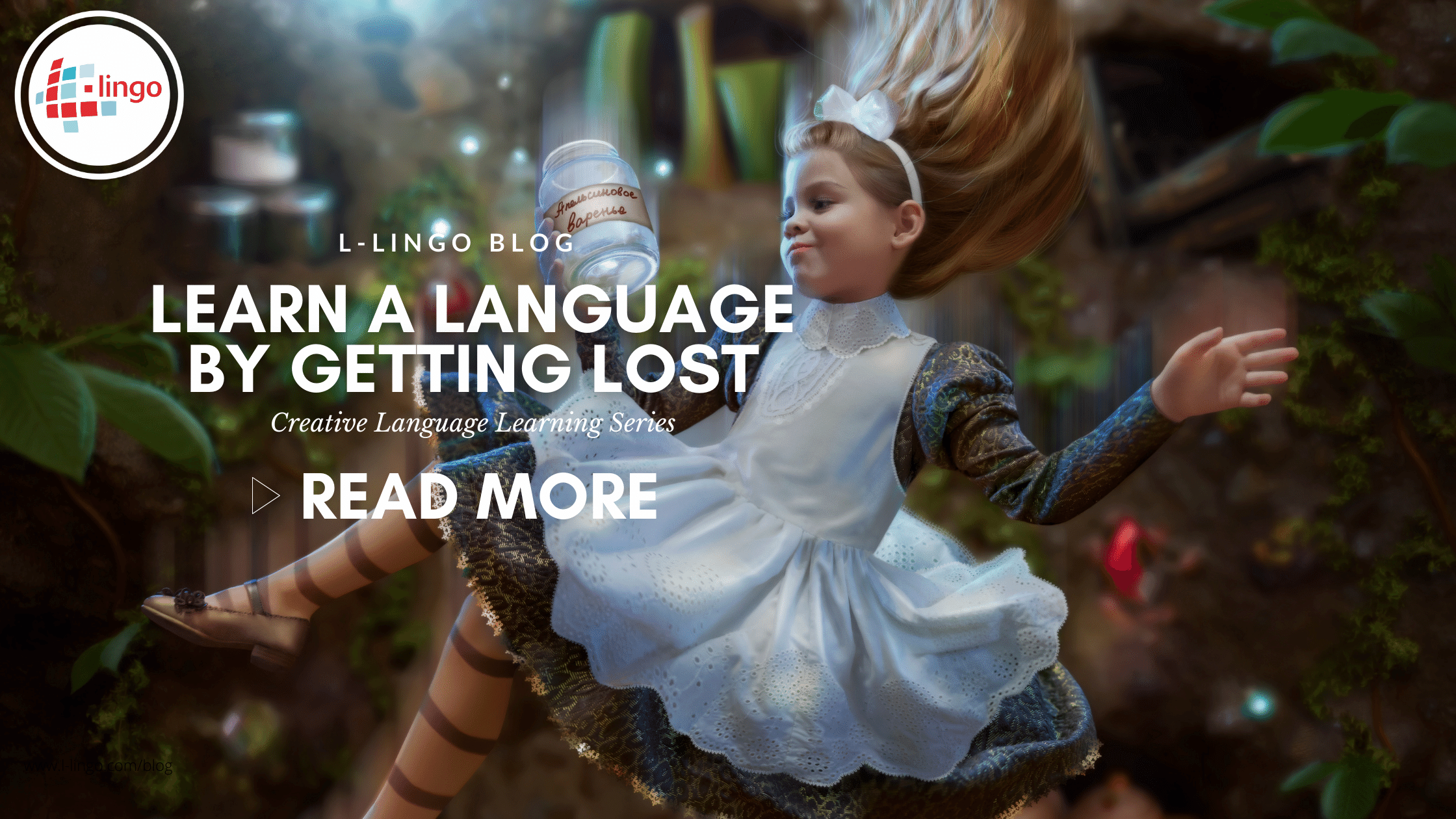 How To Learn A Language By Getting Lost: L-Lingo Blog