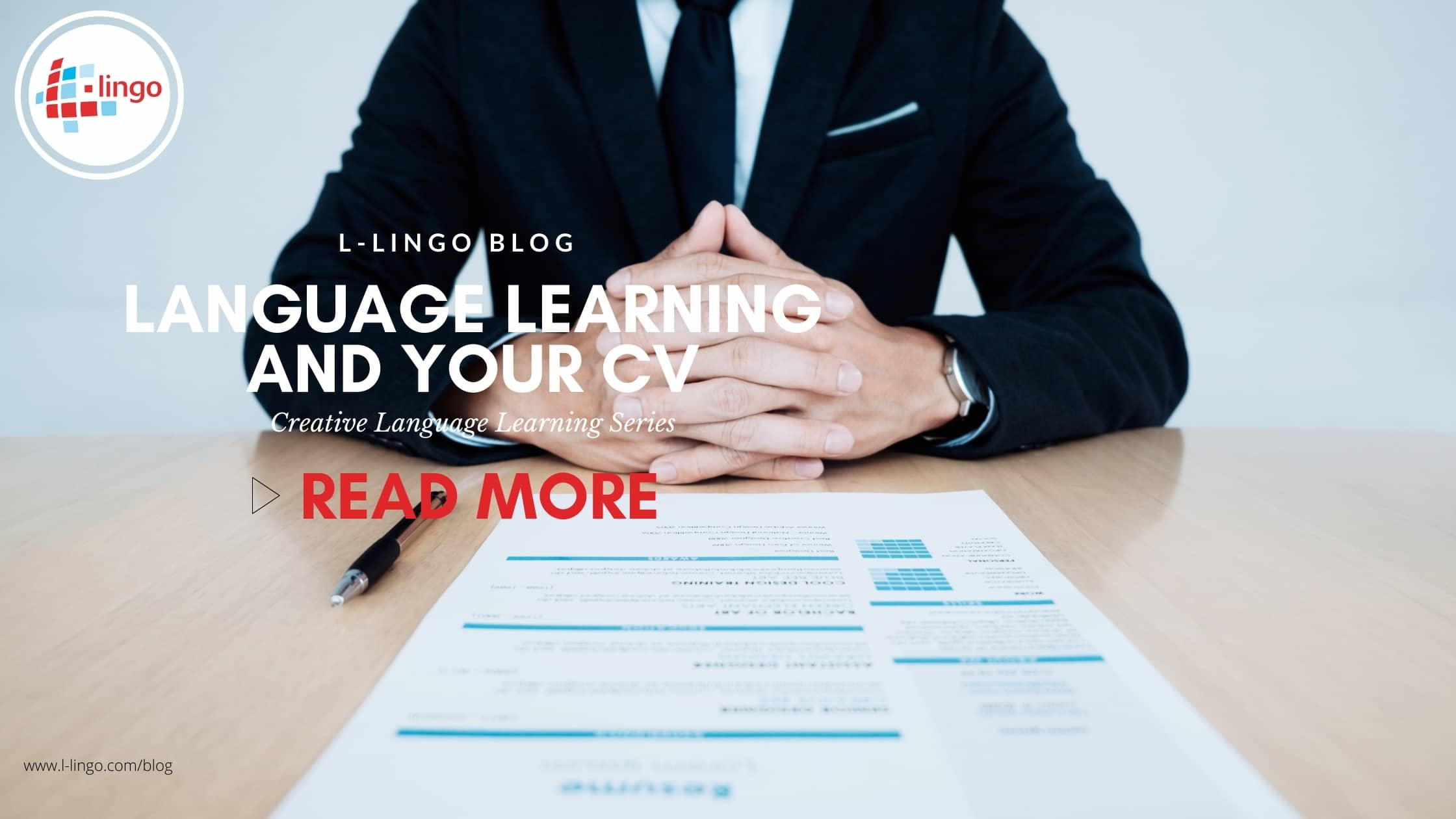 language learning and cv l-lingo